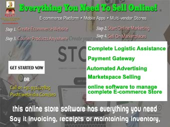 complete e-commerce store 